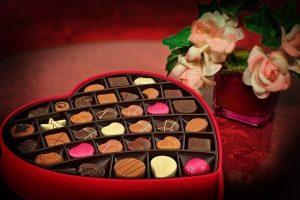 לא תאמינו כמה שוקולד קונים האמריקאים בחג האהבה